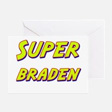 Super braden Greeting Card