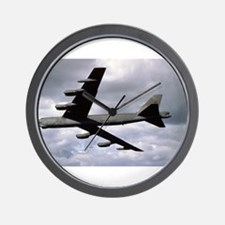 B-52 Stratofortress in Flight Wall Clock