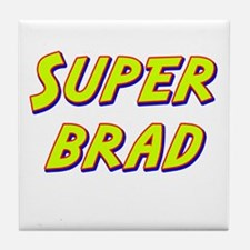 Super brad Tile Coaster