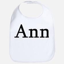 Ann - Personalized Bib