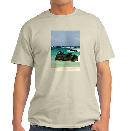 Amphibious Landing on Vieques Ash Grey T-Shirt