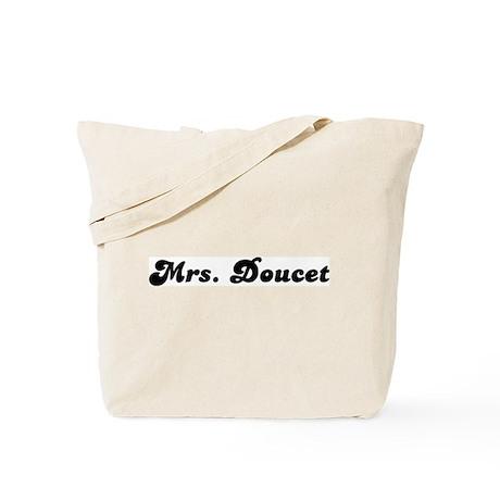 Mrs. Doucet Tote Bag