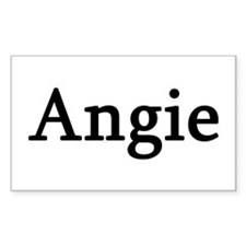 Angie - Personalized Rectangle Decal