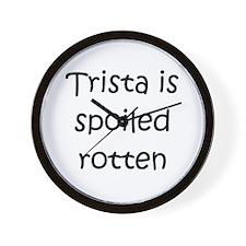 Cool Trista Wall Clock