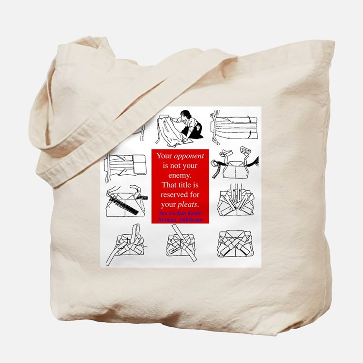 True Enemy Tote Bag
