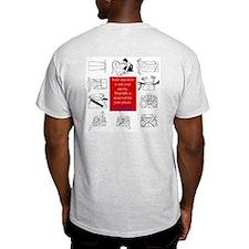 True Enemy Ash Grey T-Shirt