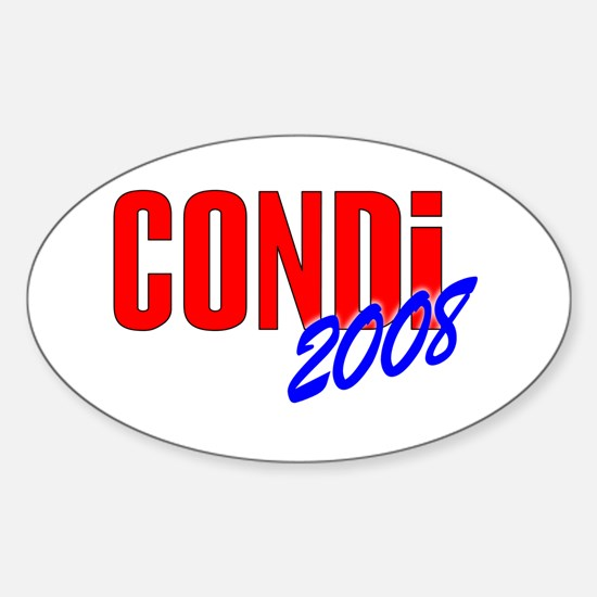 Condoleezza Rice 2008 Oval Decal