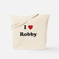 I love Robby Tote Bag