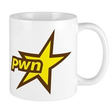Pwn Star Uber Gamer Small Mugs