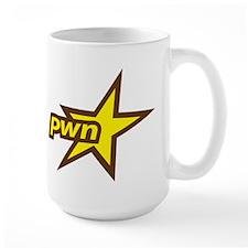 Pwn Star Uber Gamer Ceramic Mugs