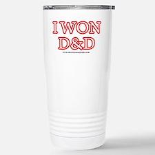 I Won DnD Stainless Steel Travel Mug
