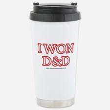I Won DnD Travel Mug