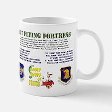 B17 Flying Fortress POW MIA Mug