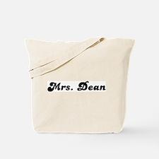 Mrs. Dean Tote Bag