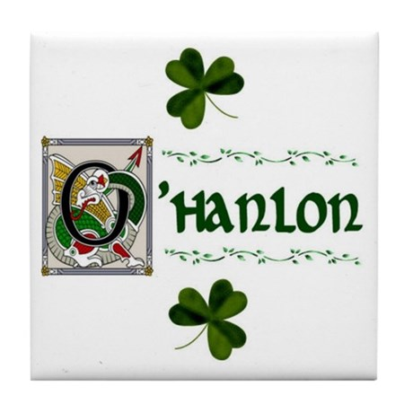 O'Hanlon Celtic Dragon Ceramic Tile