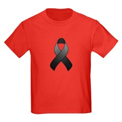 Black Awareness Ribbon T