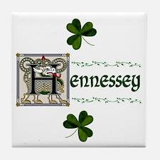 Hennessey Celtic Dragon Ceramic Tile
