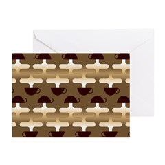 Contemporary Coffee Greeting Cards (Pk of 20)
