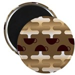 "Contemporary Coffee 2.25"" Magnet (100 pack)"