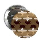 "Contemporary Coffee 2.25"" Button (100 pack)"
