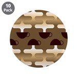 "Contemporary Coffee 3.5"" Button (10 pack)"