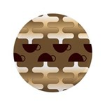 "Contemporary Coffee 3.5"" Button (100 pack)"