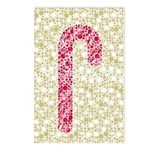 Candy Cane Polka Postcards (Package of 8)