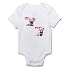 Naughty and Nice Infant Bodysuit