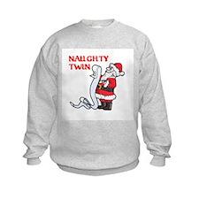 Naughty and Nice Sweatshirt