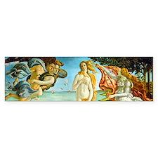 Botticelli's Birth of Venus Bumper Bumper Sticker