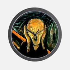 Munch's The Scream Wall Clock