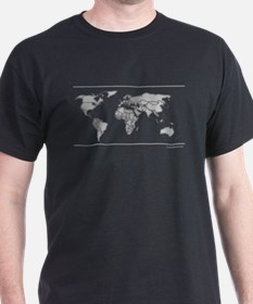 GEOGRAPHY/WORLD MAP T-Shirt