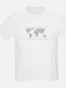 GEOGRAPHY/WORLD MAP T-Shirt