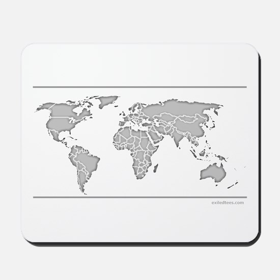 GEOGRAPHY/WORLD MAP Mousepad