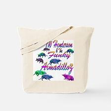 TW Henderson Funky Armadilloz Tote Bag