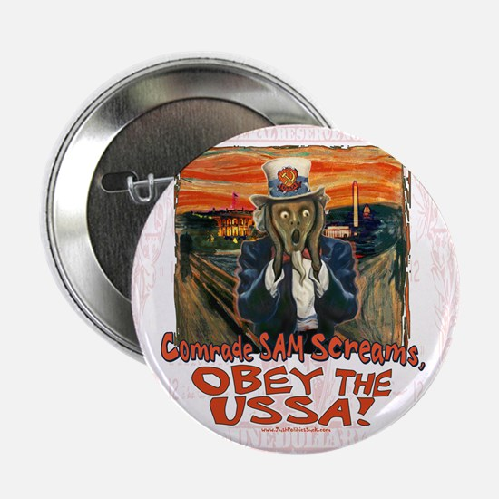 "Obey the USSA 2 2.25"" Button"