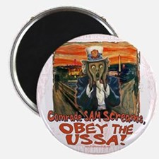 Obey the USSA 2 Magnet