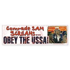 Obey the USSA 2 Bumper Bumper Sticker