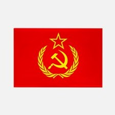New USSR Flag Rectangle Magnet