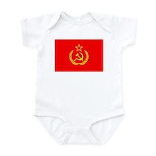 New USSR Flag Infant Bodysuit
