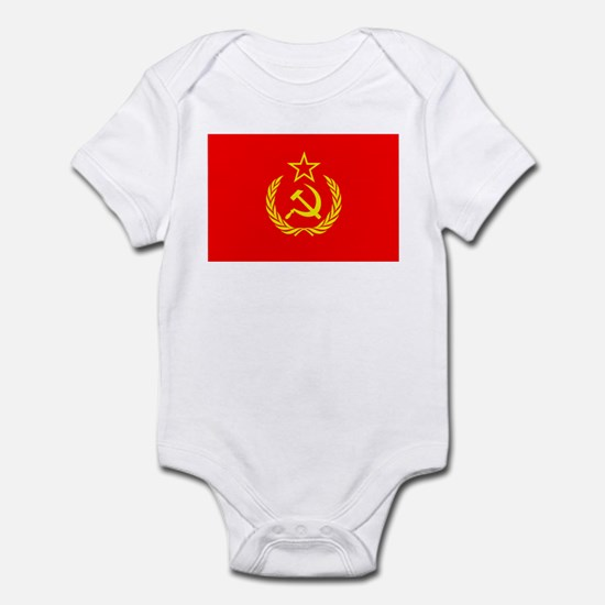 New USSR Flag Infant Bodysuit