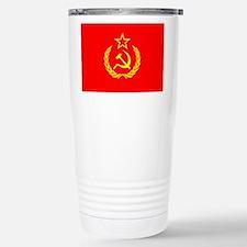 New USSR Flag Stainless Steel Travel Mug