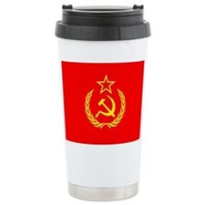 New USSR Flag Travel Mug