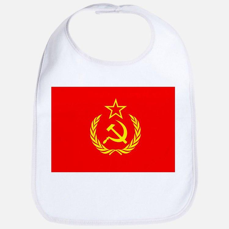 New USSR Flag Bib