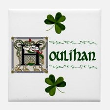 Houlihan Celtic Dragon Ceramic Tile