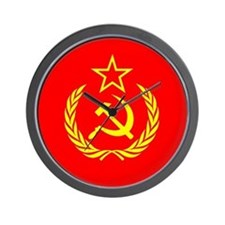 New USSR Flag Wall Clock