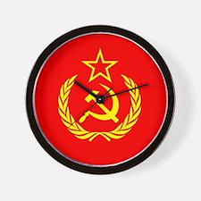 New USSR Flag Wall Clock
