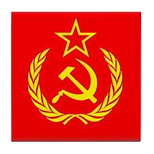 New USSR Flag Tile Coaster