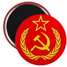 New USSR Flag Magnet