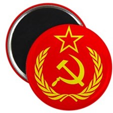 "New USSR Flag 2.25"" Magnet (10 pack)"